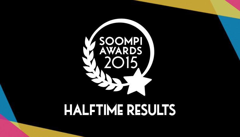 Soompi Awards 2015: The Halftime Results
