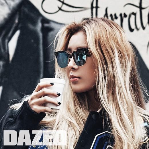 Yubin Is the Ultimate Girl Crush for Dazed Magazine