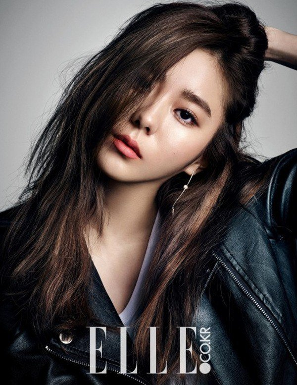 Uee Shares Her New Year's Resolution with Elle