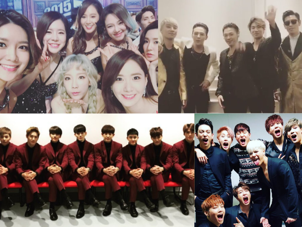 K-Pop Idols Share Their New Year's Greetings