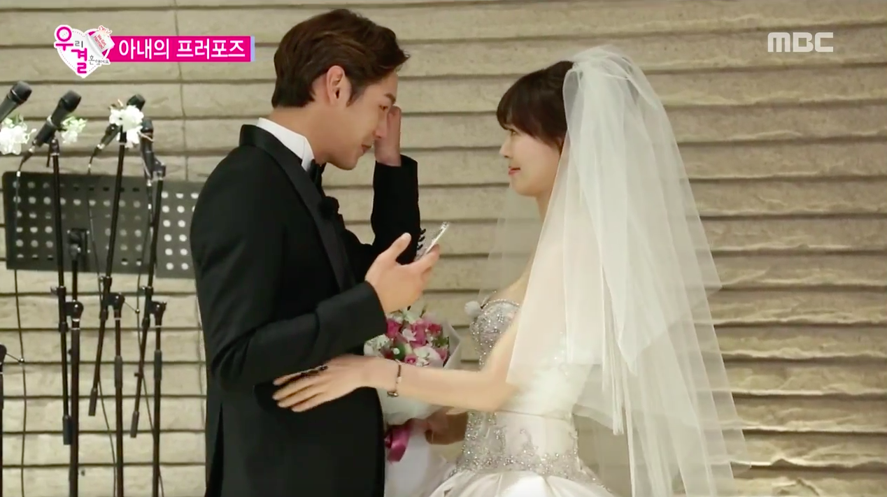 """Kwak Si Yang and Kim So Yeon's Marriage Contract Meets a Happy Ending on """"We Got Married"""""""