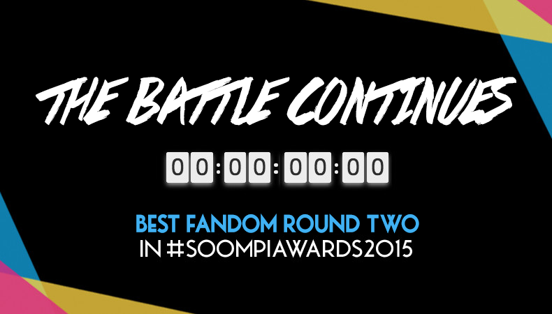 The Battle Continues – 24-Hours Only, Vote Round Two of Best Fandom in Soompi Awards 2015!