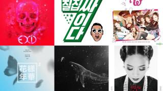 Weekly K-Pop Music Chart 2016 – January Week 1 soompi