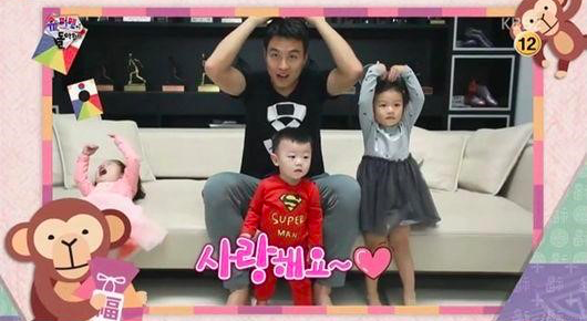 """The Families of """"The Return of Superman"""" Wish Viewers a Happy New Year"""