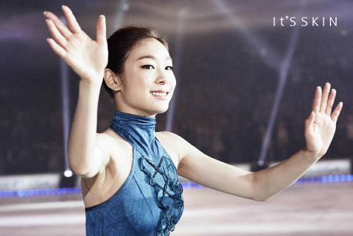 Kim Yuna to Model for Cosmetics Brand It's Skin