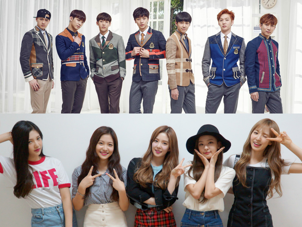 Korean Students Choose Which Idols They Want as Their Classmates