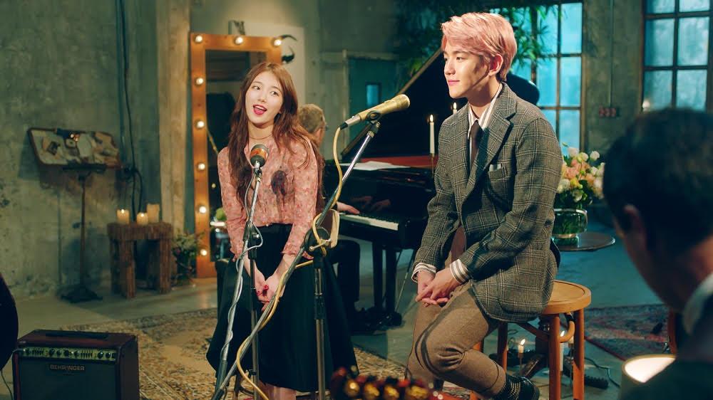 "EXO's Baekhyun and miss A's Suzy Drop Duet Track ""Dream"""