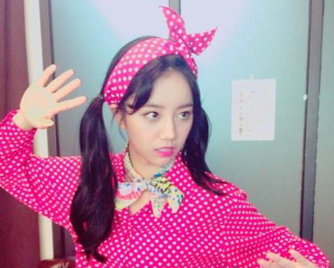 Girl's Day's Hyeri Reaches 1 Million Instagram Followers