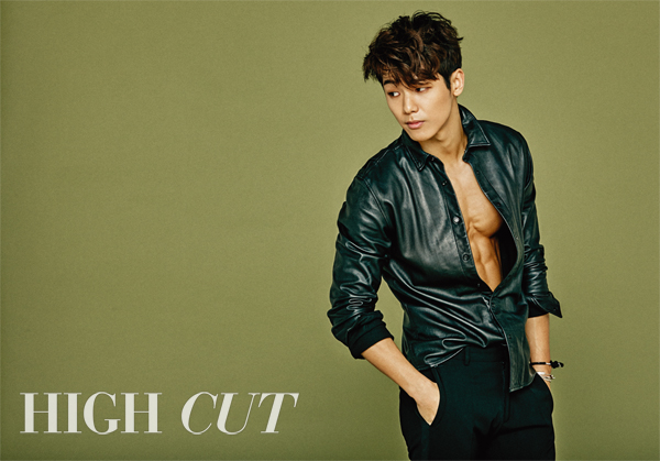 CNBLUE's Kang Min Hyuk Charms Fans With His Muscles in High Cut Pictorial