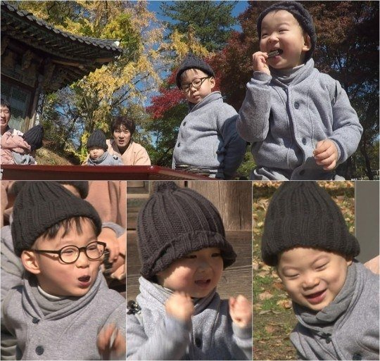 "Song Triplets Turn Into Squirrel Brothers During ""The Return of Superman"""