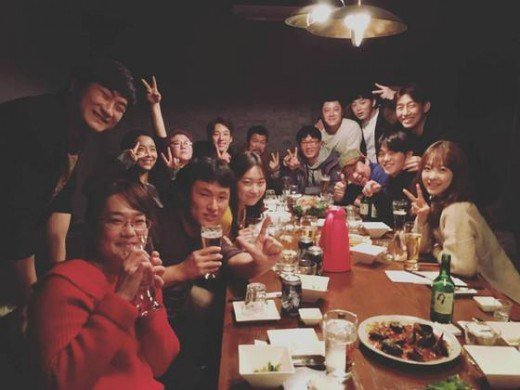"""Oh My Ghost"" Cast and Crew Gather for New Year's Reunion"