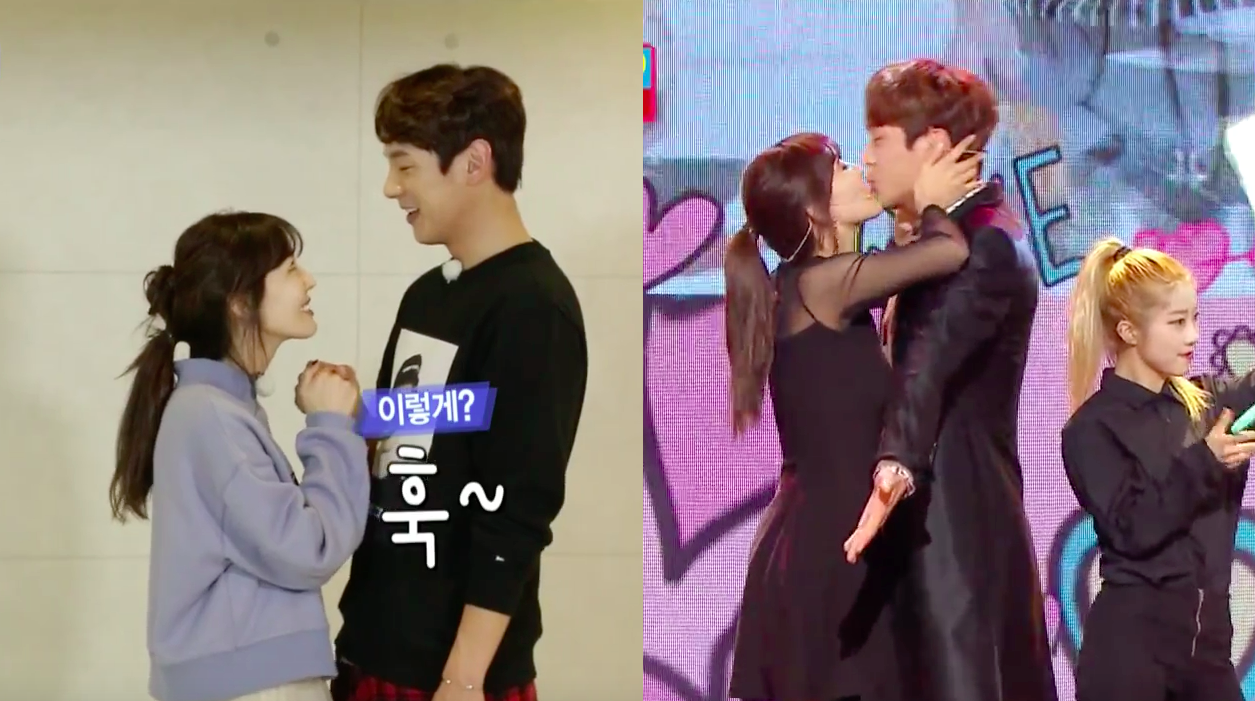 Kim So Yeon and Kwak Si Yang Get Adorably Embarrassed While Rehearsing for Performance