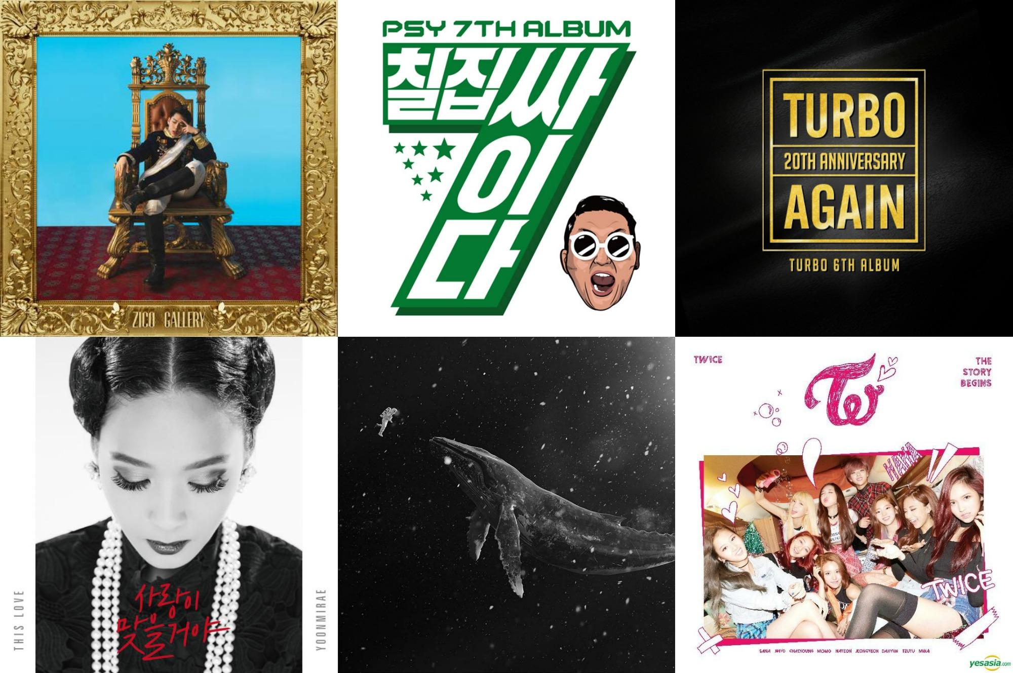 Weekly K-Pop Music Chart 2016 – January Week 2