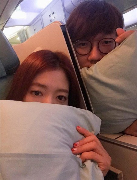 Park Shin Hye Shares Photo of a Trip With Her Brother