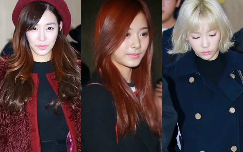 Girls' Generation and TWICE Impress with Their Winter Airport Fashion