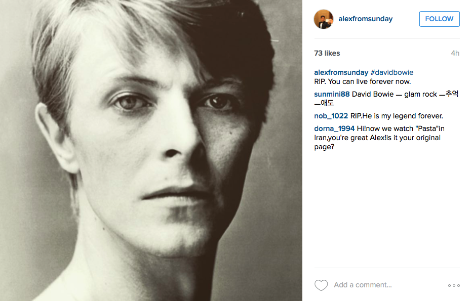 alex david bowie