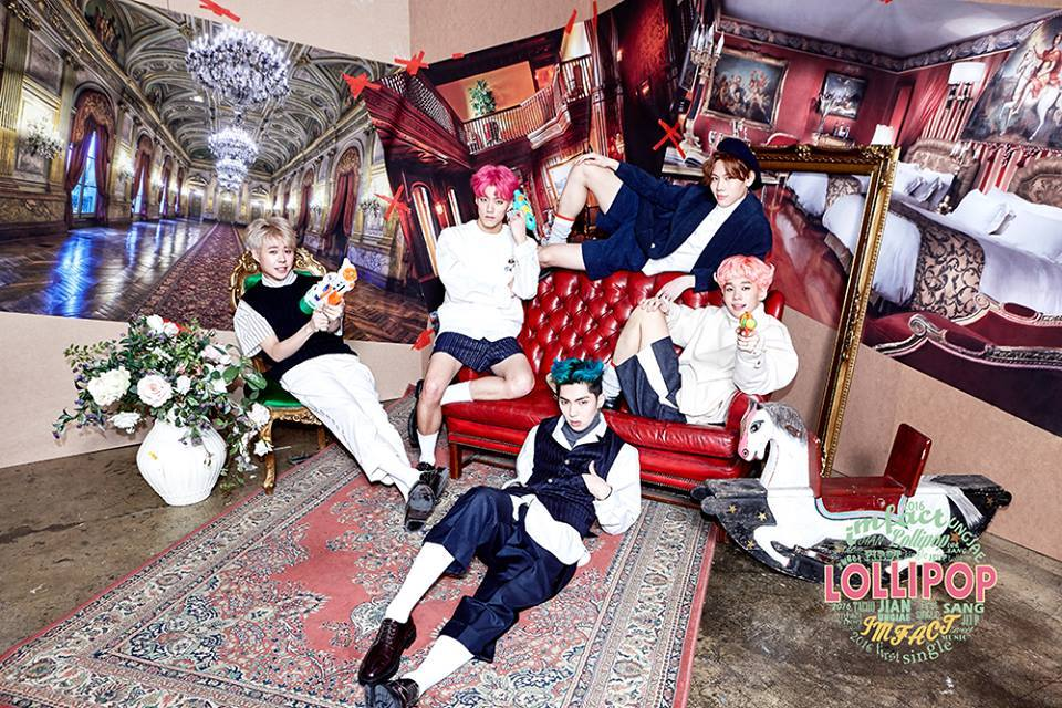 """Star Empire's New Boy Group IMFACT Shares Teaser Images for Debut With """"Lollipop"""""""