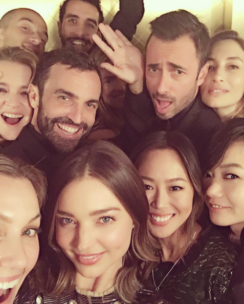Actress Bae Doona Spotted in Miranda Kerr's Star-Studded Selfie
