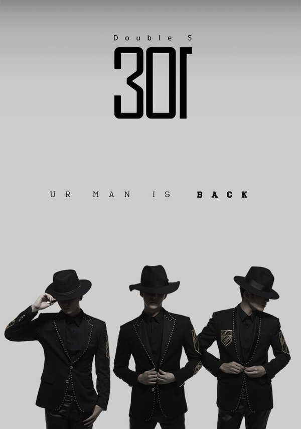 "SS301 Says ""Ur Man Is Back"" in Comeback Teaser"