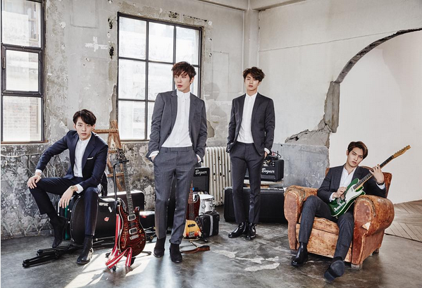 CNBLUE Gets Fined for Copyright Infringement