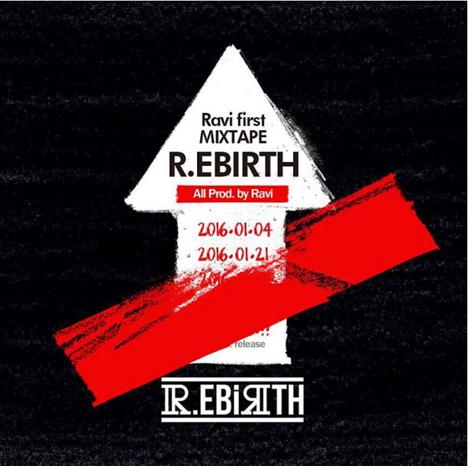 VIXX's Ravi Teases Second Mixtape Pre-Release