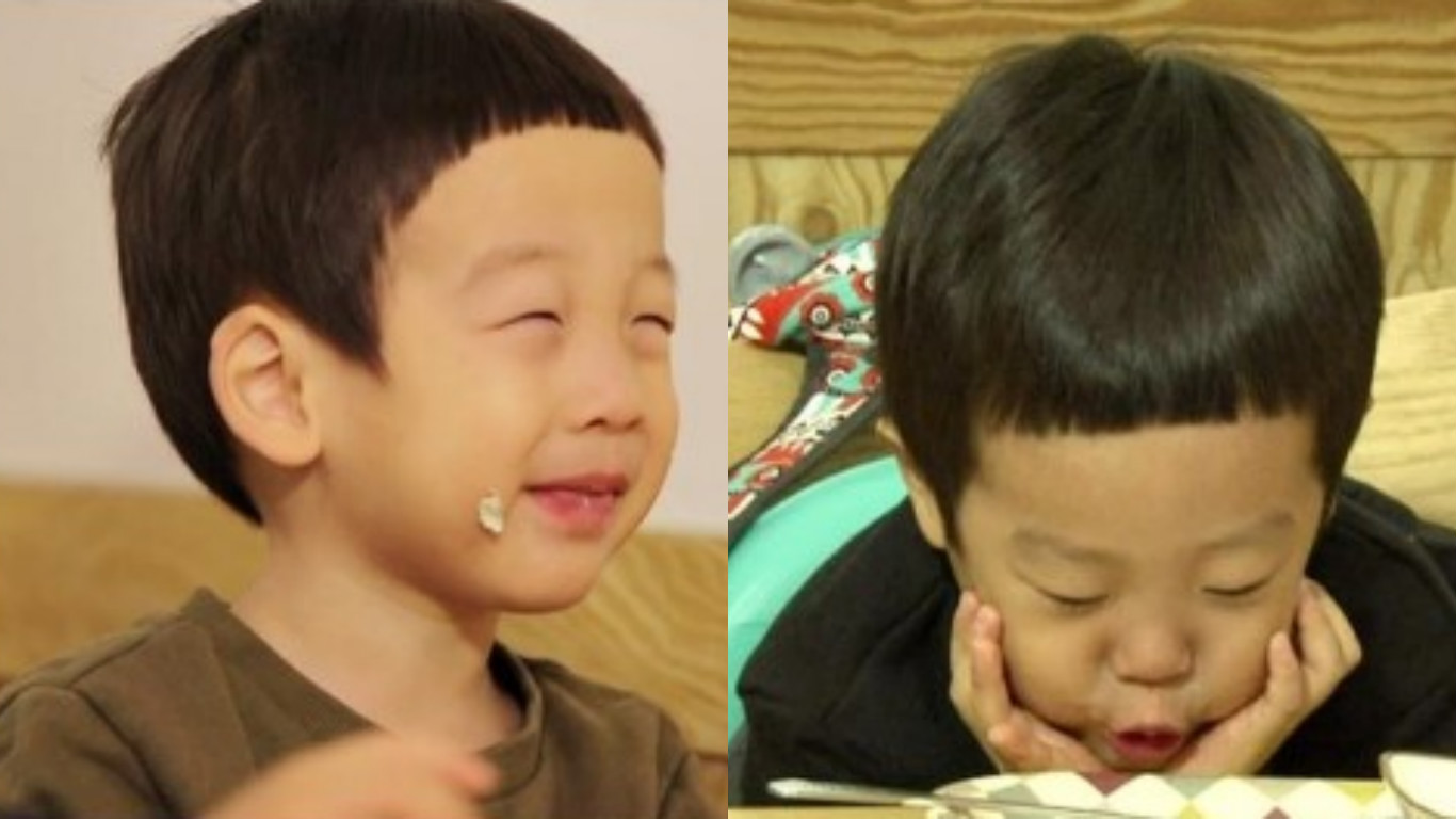 """Seo Eon and Seo Jun Have Aegyo Battle for Food on """"The Return of Superman"""""""