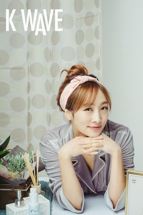 Nicole Is a Lovely Beauty for K-Wave Magazine