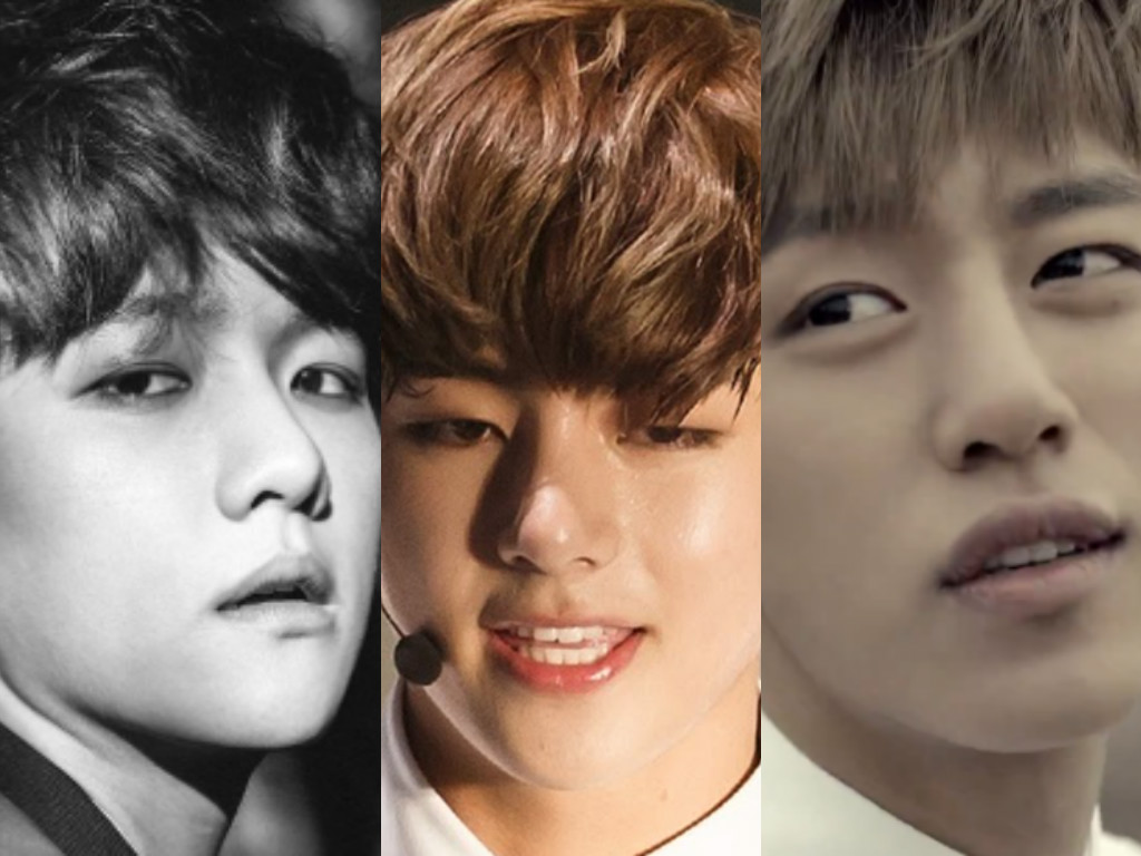 K Pop Idols That Look So Alike They Could Be Related Soompi The Saem Woo Eyebrow Brown 01