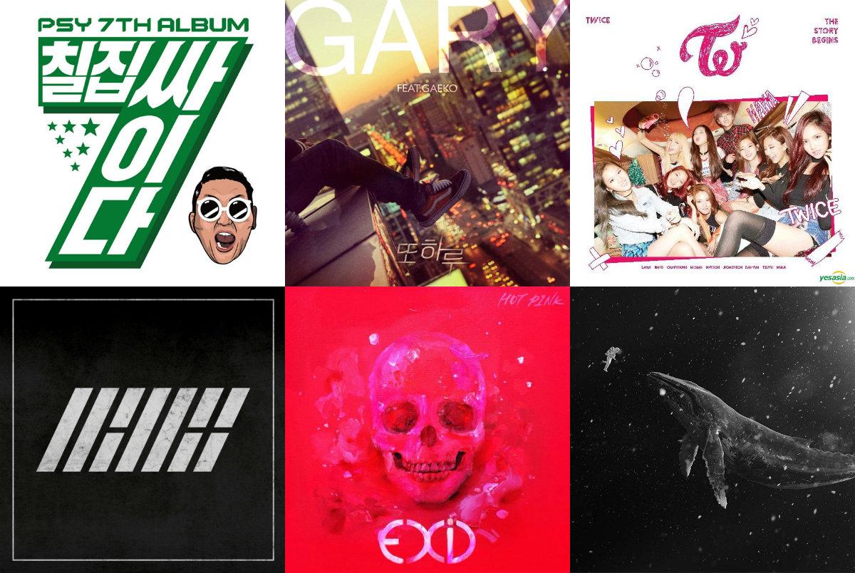 Weekly K-Pop Music Chart 2016 – January Week 3