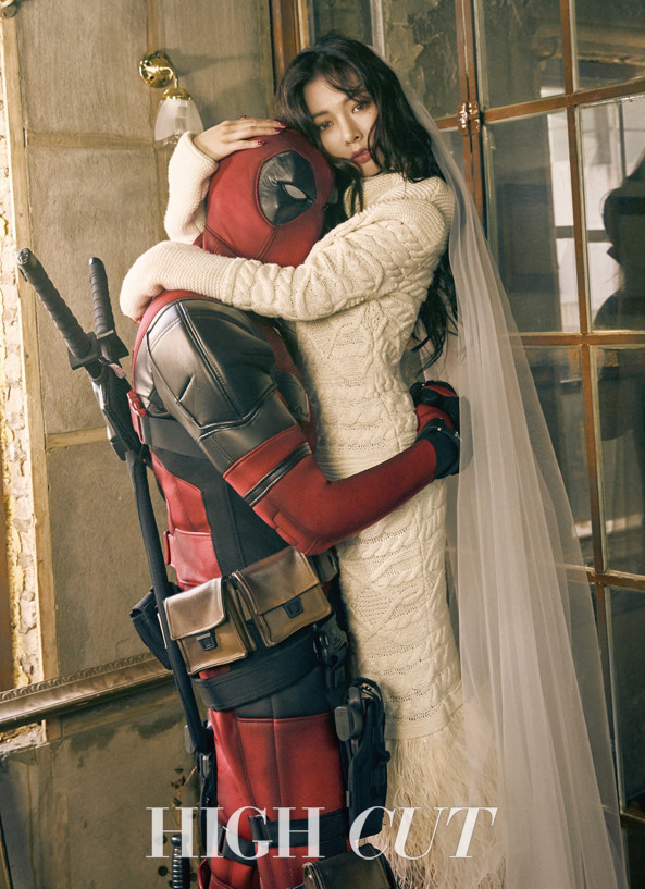 """Deadpool"" Star Ryan Reynolds Expresses His Love for HyunA on Instagram"