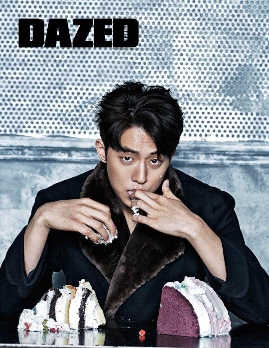 Model and actor Nam Joo Hyuk has graced the cover of Dazed Korea 's ...: https://www.soompi.com/2016/01/19/nam-joo-hyuk-melts-fans-hearts-in-dazed-pictorial/