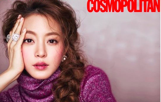 Han Ye Seul Is a Captivating Beauty in Recent Cosmopolitan Pictorial