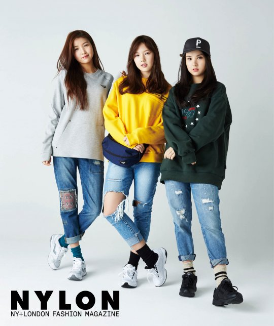 GFRIEND's Sporty Pictorial for Nylon Revealed