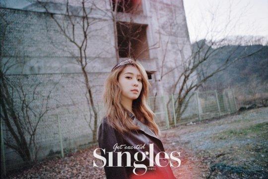 SISTAR's Bora Is a Dreamy Vision for Singles Magazine