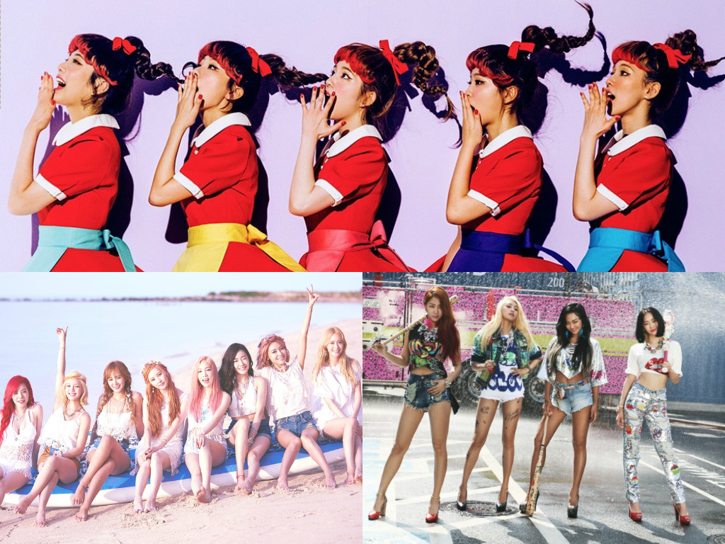 2015 Girl Group Music Download Rankings Revealed