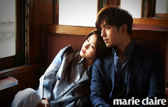 Ha Ji Won and Bolin Chen Become Lovers for Marie Claire