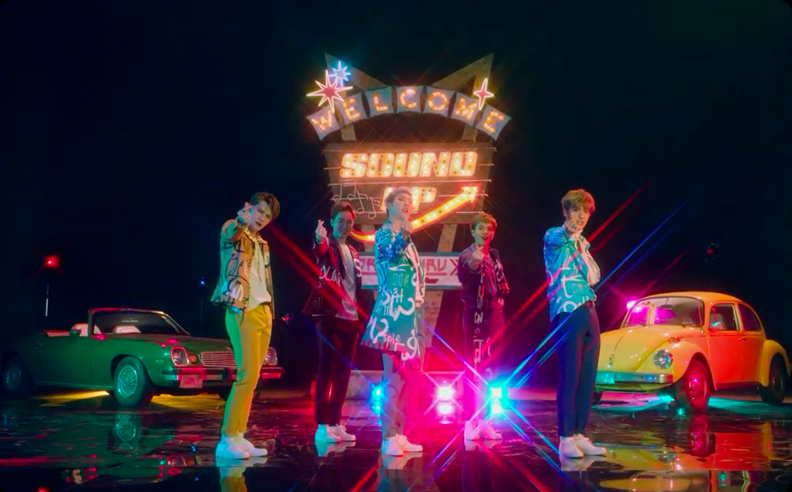 """The Legend Goes Retro in New """"Crush On You"""" Music Video Featuring 9Muses' Kyungri"""
