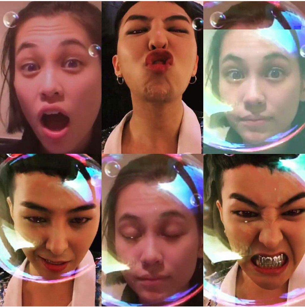 Bubble Pop: Fans Wonder About G-Dragon and Kiko Mizuhara's Similar Selfie Videos