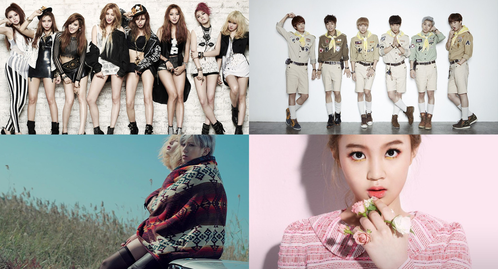 8 K-Pop Acts That Haven't Made a Comeback in a Long Time