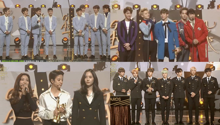 Winners of the 30th Golden Disc Awards, Day Two