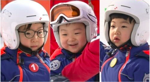 "Song Triplets Tackle the Slopes on ""The Return of Superman"""