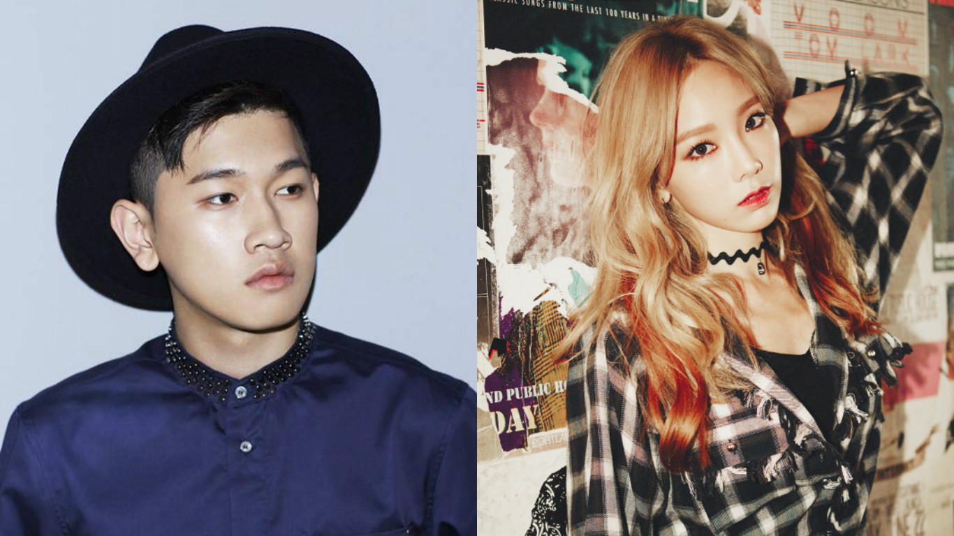"""Crush and Taeyeon Rise to the Top of Music Charts With """"Don't Forget"""""""
