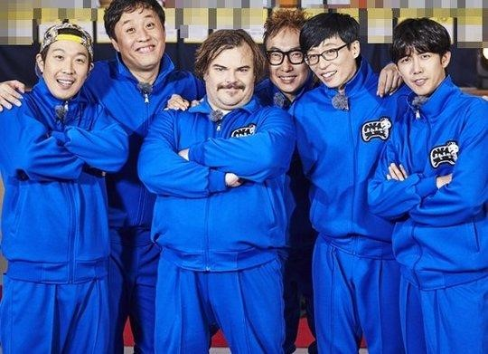"Jack Black Blends Right In as One of the ""Infinite Challenge"" Members"
