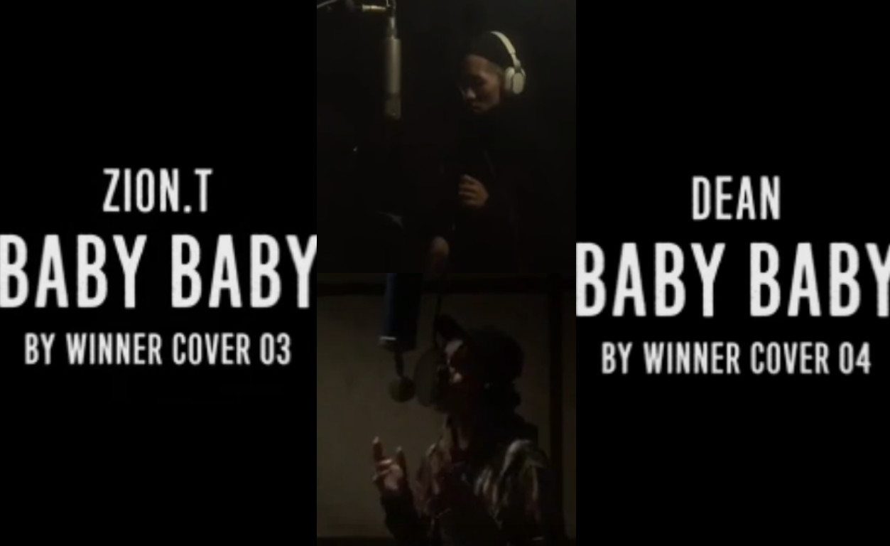 "Watch: Zion.T and Dean Cover WINNER's ""Baby Baby"""