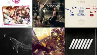 Weekly K-Pop Music Chart 2016 - January Week 4 soompi