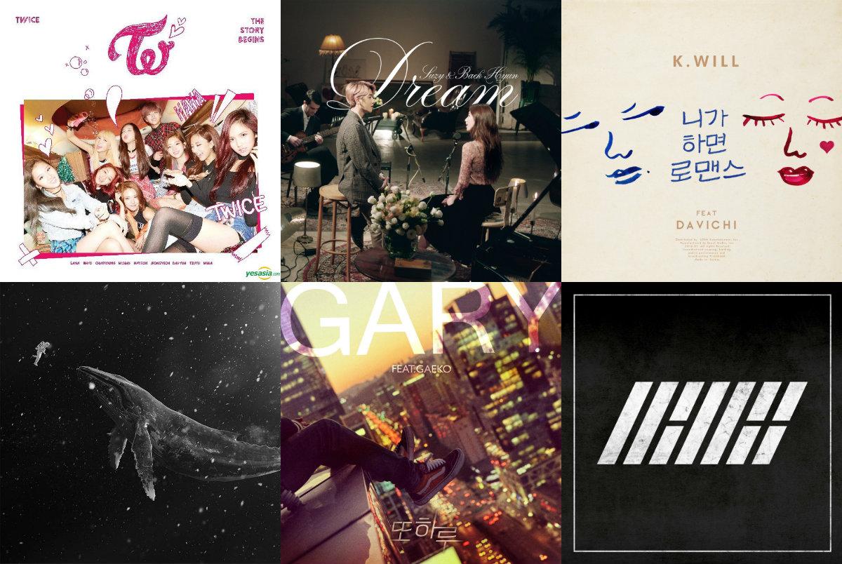 Weekly K-Pop Music Chart 2016 – January Week 4