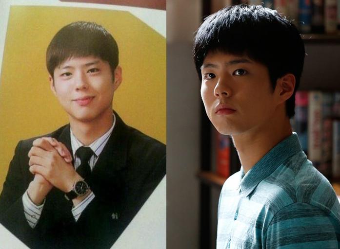 High School Yearbook Photo of Park Bo Gum Resurfaces
