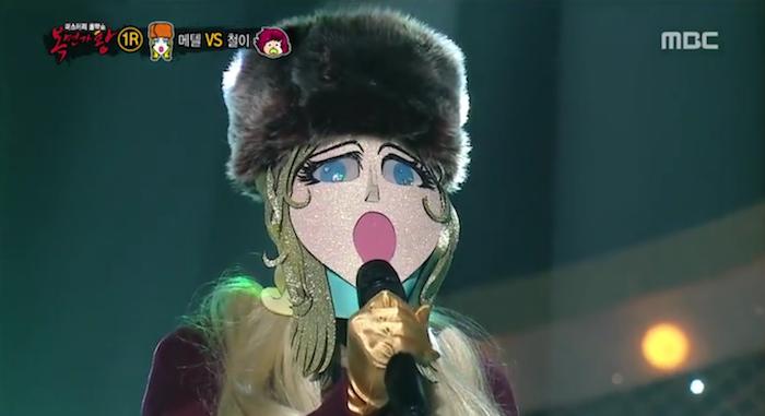 king of mask singer january 24