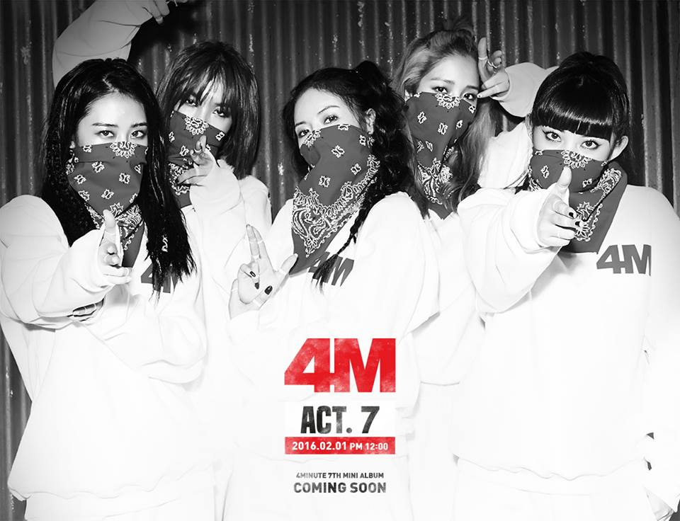 4Minute Plan to Become Your Girl Crushes With New Album
