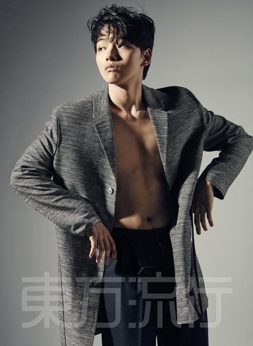 Yeo Jin Goo Is All Man for Dong Bang Yu Haeng Magazine